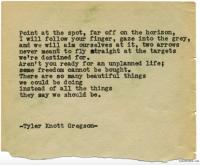 """Un """"Daily Haiku"""" posté sur le Tumblr de Tyler Knott Gregson"""