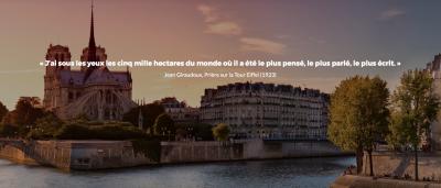 Comment flâner dans le Paris littéraire  avec votre smartphone