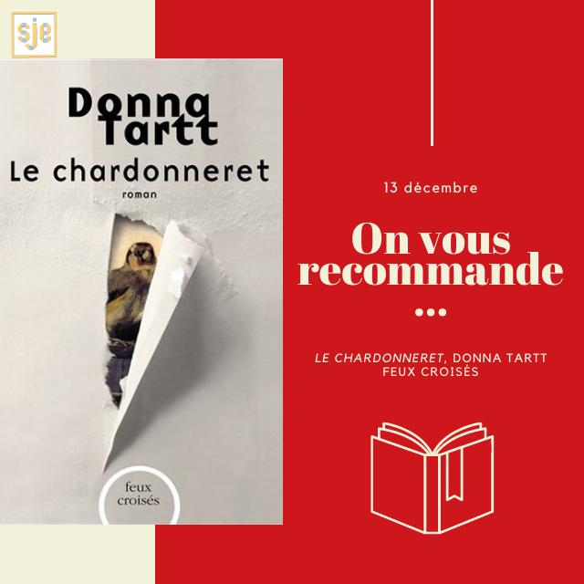 À glisser sous le sapin #3 : Le Chardonneret (Donna Tartt)