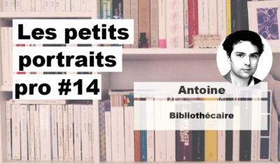 Portrait pro #14 Antoine, bibliothécaire